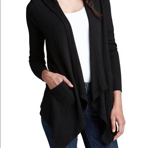 Splendid 50/50 long cardigan w/pockets small
